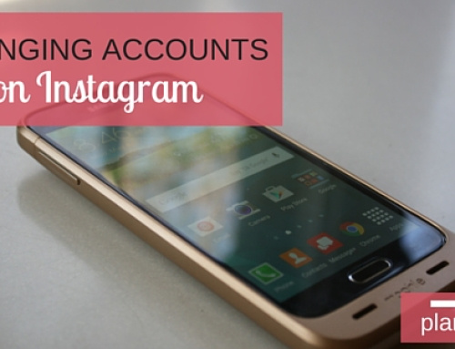 Changing Accounts on Instagram